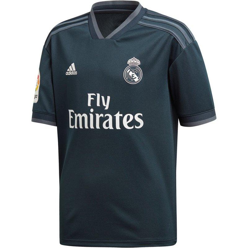 Segunda Equipación Adultos y Niños 2018 1019 Real Madrid Adidas ... 81de0e4f1cdd1